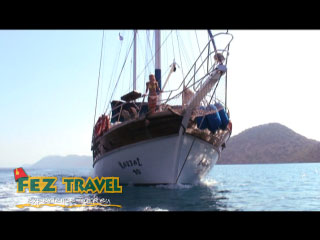 View our Kylie soaks up the wonders of the Med whilst sailing on a traditional Turkish Gulet... [0:20]